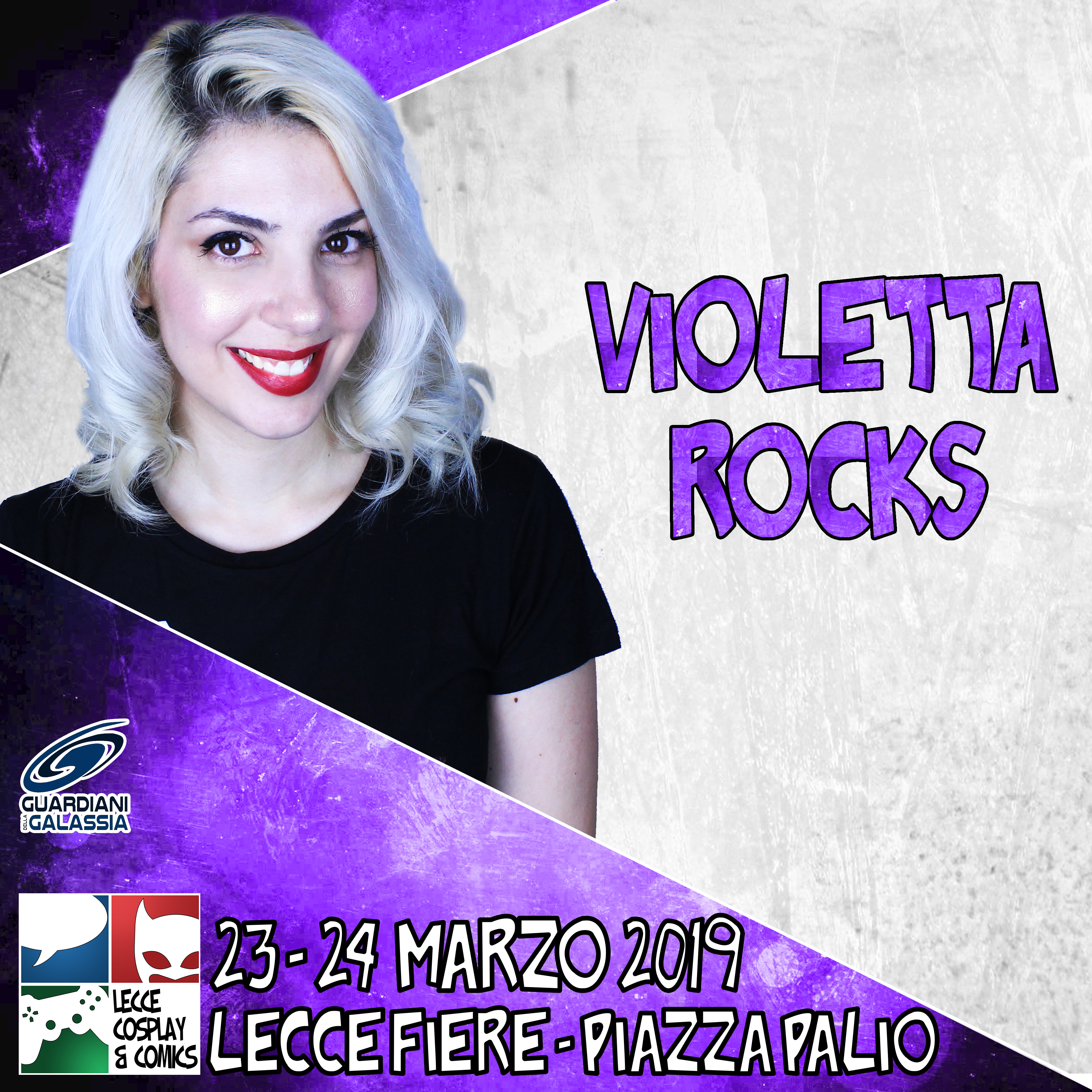 Violetta Rocks a Lecce Cosplay & Comics 2019